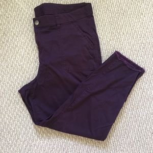 Plum colored pants